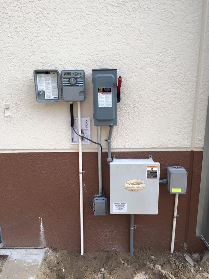 Sprinkler Control Panel : Planned sprinkler maintenance for repair atz