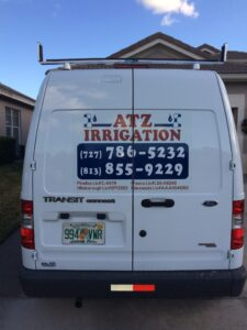 picture an ATZ Irrigation truck